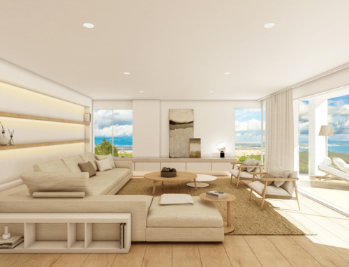 Luxury sea view penthouse in Na Burguesa, Genova